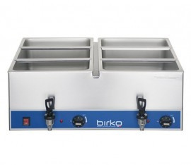 Birko 1110100 - Bain Marie  Double Tap No Pans