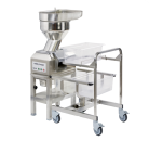 Robot Coupe CL60 Vegetable Preparation Workstation includes trolley, 3 heads and 16 discs