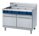 Blue Seal Evolution Series G528A - 1200mm Gas Range Double Static Oven