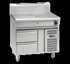 Waldorf 800 Series RN8100G-RB - 900mm Gas Target Top - Refrigerated Base