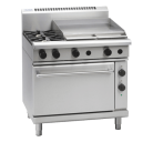 Waldorf 800 Series RN8616GE - 900mm Gas Range Electric Static Oven
